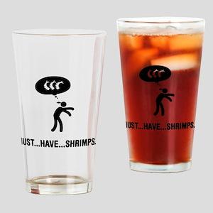 Shrimp Lover Drinking Glass
