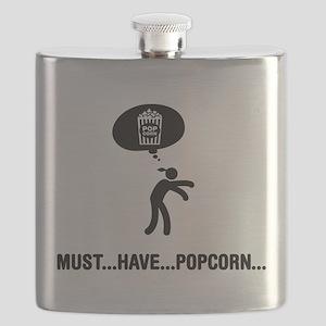 Popcorn Lover Flask