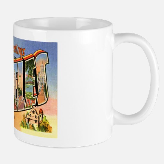 Los Angeles California Greetings Mug