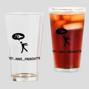Prosciutto Lover Drinking Glass