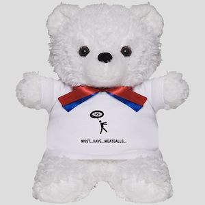 Meatball Lover Teddy Bear