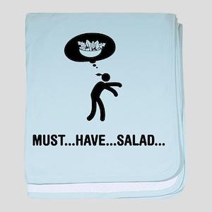 Salad Lover baby blanket
