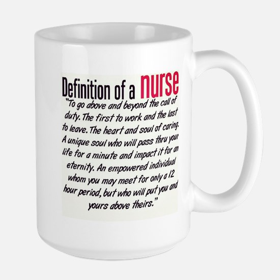 Definition of a Nurse Mug