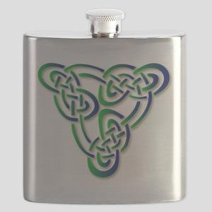 Celtic Knot Flask
