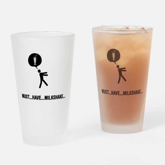 Milkshake Lover Drinking Glass