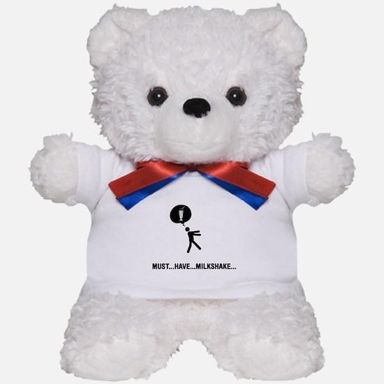 Milkshake Lover Teddy Bear