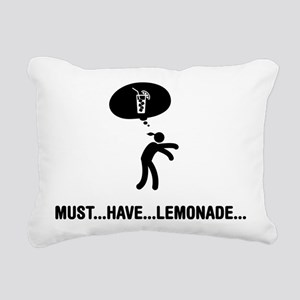 Lemonade Lover Rectangular Canvas Pillow