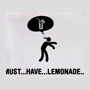 Lemonade Lover Throw Blanket