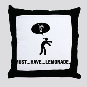 Lemonade Lover Throw Pillow
