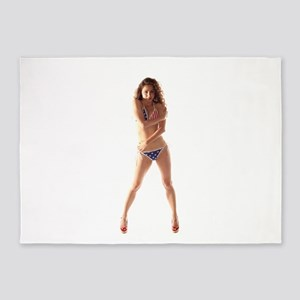USA Girl 5'x7'Area Rug