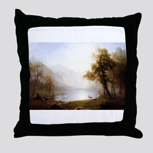 Kings Canyon Valley Throw Pillow