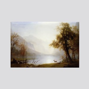 Kings Canyon Valley Rectangle Magnet