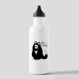 My Furbaby (txt) Water Bottle