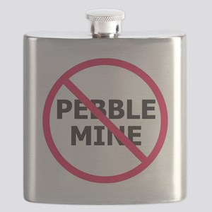 NoPebbleMine Flask