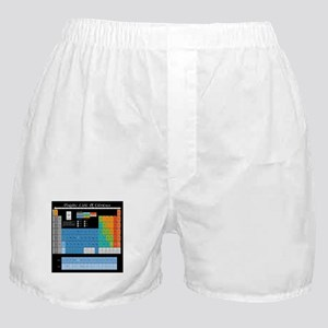 Math Table Boxer Shorts