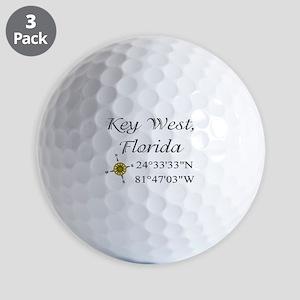 Key West Geocaching Golf Ball