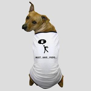 Frozen Yogurt Lover Dog T-Shirt