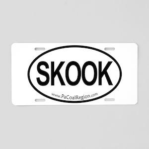 Skook Aluminum License Plate
