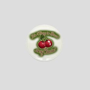 Stare at my Cherries (txt) Mini Button