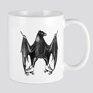 Derby Bat Black Mug