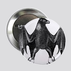 """Derby Bat Black 2.25"""" Button"""