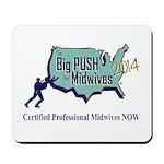 Big Push Mousepad