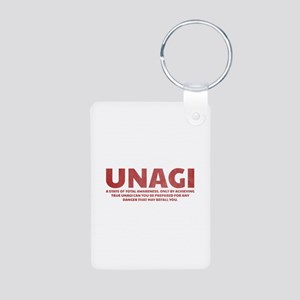 Friends Unagi Aluminum Photo Keychain