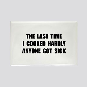 Cooked Sick Rectangle Magnet (10 pack)