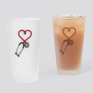 Nurses Have Heart Drinking Glass