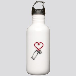 Nurses Have Heart Water Bottle