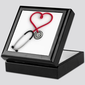 Nurses Have Heart Keepsake Box