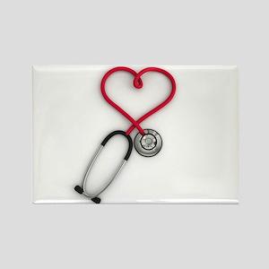 Nurses Have Heart Rectangle Magnet