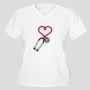 Nurses Have Heart Plus Size T-Shirt