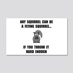 Flying Squirrel Wall Decal