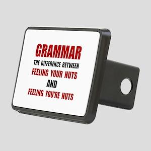 Grammar Nuts Hitch Cover