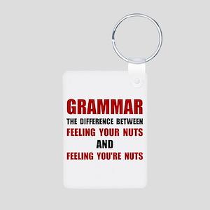 Grammar Nuts Keychains