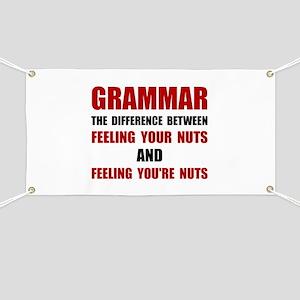 Grammar Nuts Banner
