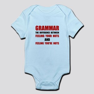 Grammar Nuts Body Suit