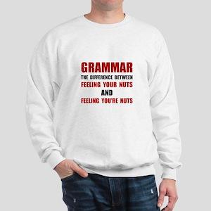 Grammar Nuts Sweatshirt
