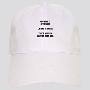Offensive Happy Baseball Cap