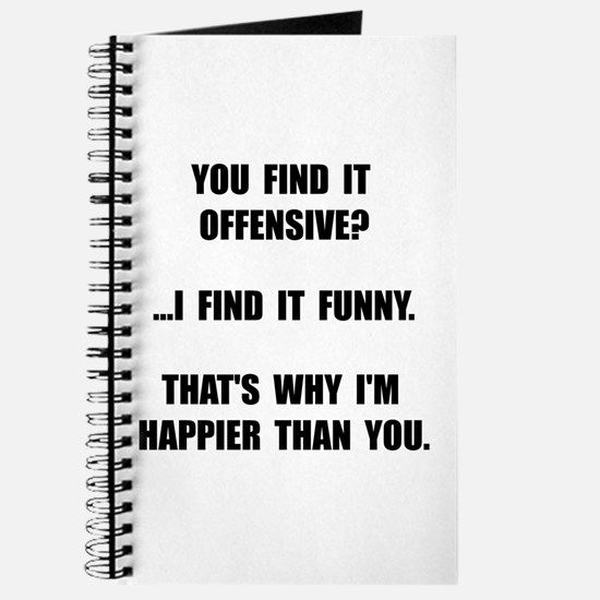 Offensive Happy Journal