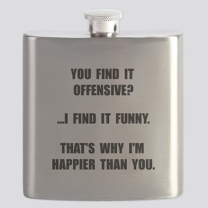 Offensive Happy Flask
