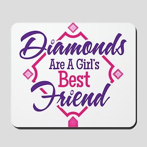 Diamonds Mousepad