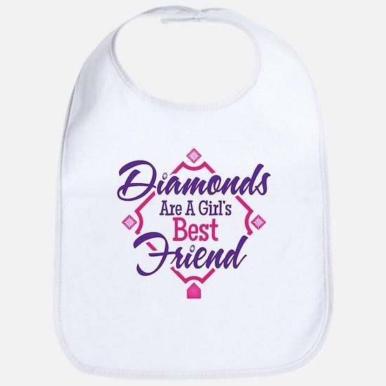 Diamonds Bib