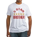 5 Star Brother Fitted T-Shirt