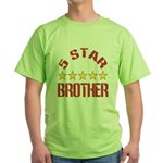 5 Star Brother Green T-Shirt
