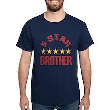 5 Star Brother Dark T-Shirt