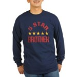 5 Star Brother Long Sleeve Dark T-Shirt