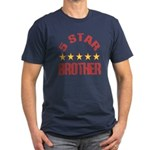 5 Star Brother Men's Fitted T-Shirt (dark)