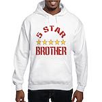 5 Star Brother Hooded Sweatshirt